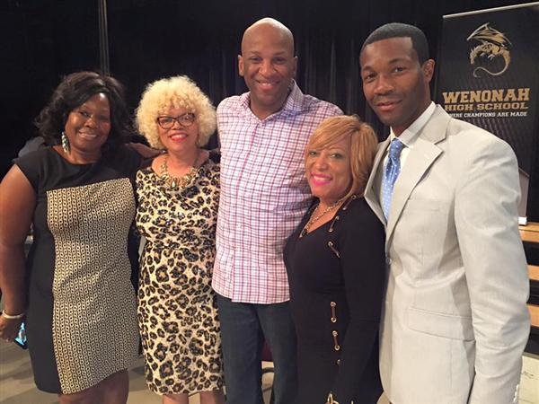 Donnie McClurkin and Marvin Winans Visits Wenonah High School