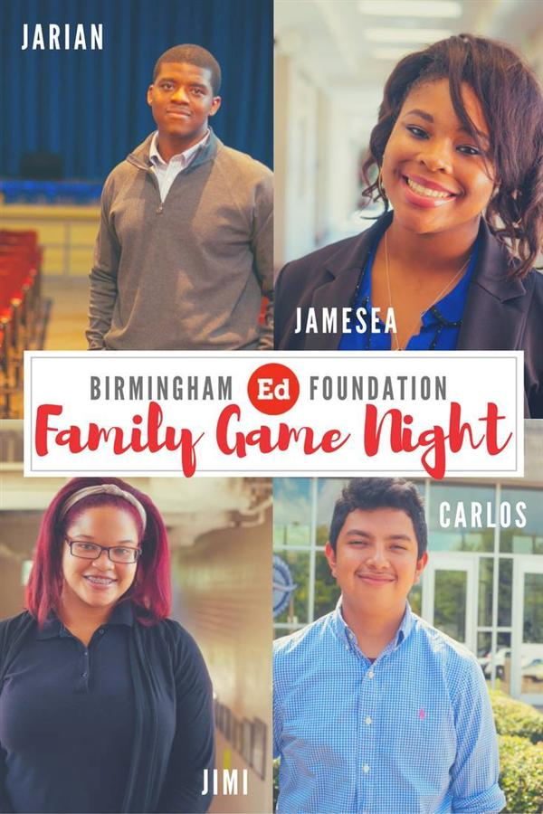 Jimi Burns Competes for Family Feud-style Game Night for College Scholarships