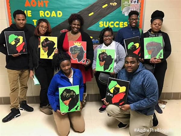 Wenonah Participates in a Paint & Learn Workshop
