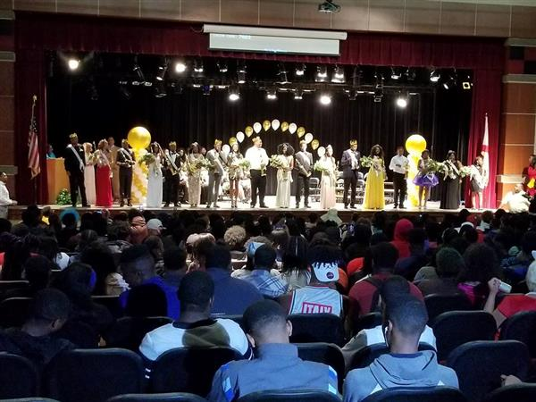 Wenonah High School 2017-2018 Royal Court