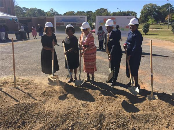 Lawson State Community College ground-breaking ceremony