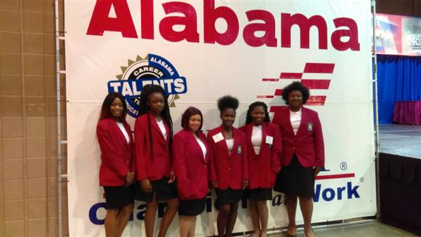 Wenonah High School SkillsUSA Cosmetology Chapter