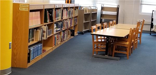 CHANGES TO LIBRARY SPACE