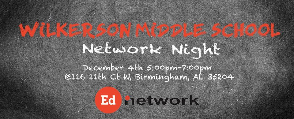 Birmingham Education Foundation Network Night