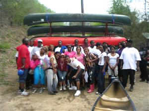Carver High School-Cahaba River 2011