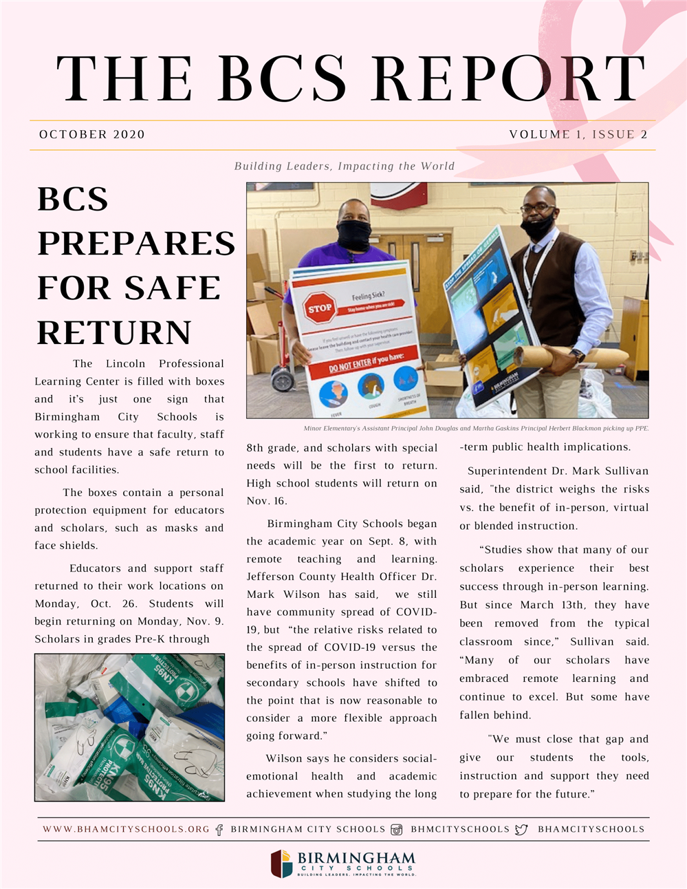 BCS October 2020 Newsletter