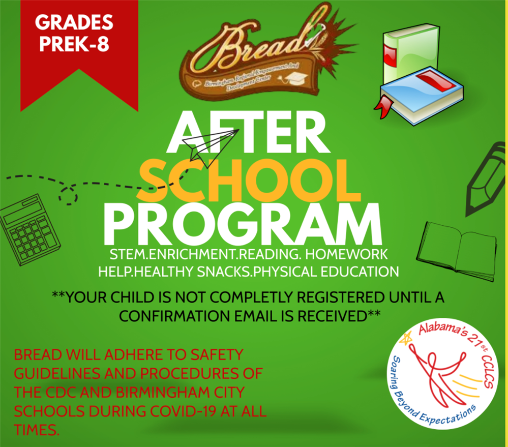 Click here to register your student for After School Care.
