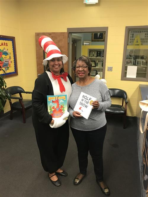 books being donated on dr seuss day