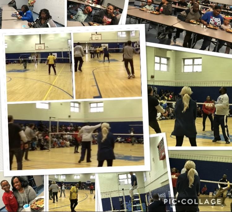 volleyball game photos