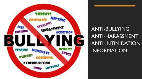 BCS Anti-Bullying/Anti-Harassment/Anti-Intimidation Form