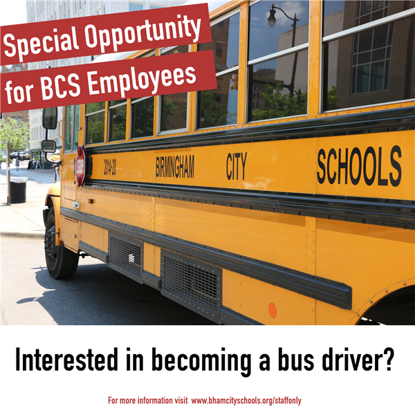 Special Offer for Employees Interested in Driving School Bus