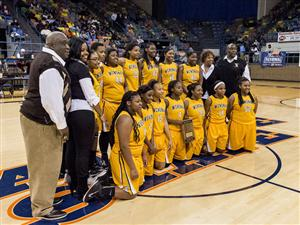 Congratulations to Coach Emanuel Bell and the Wenonah Lady Dragons!  5A State Northwest Regional Champions!
