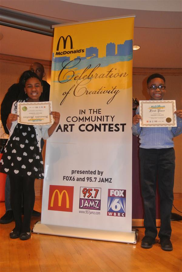 Princeton Elementary School Students enter Black History Month contest sponsored by 95.7 JAMZ, FOX6 and McDonald's