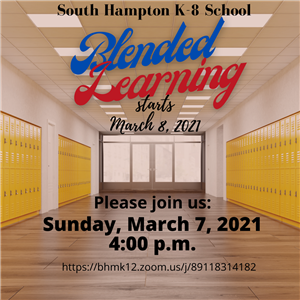 Parent Meeting - March 7, 2021