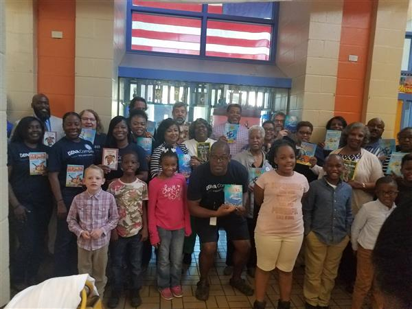 A Huge Thanks is extended to Birmingham Reads and all the BBVA Compass Bank employees that read to e