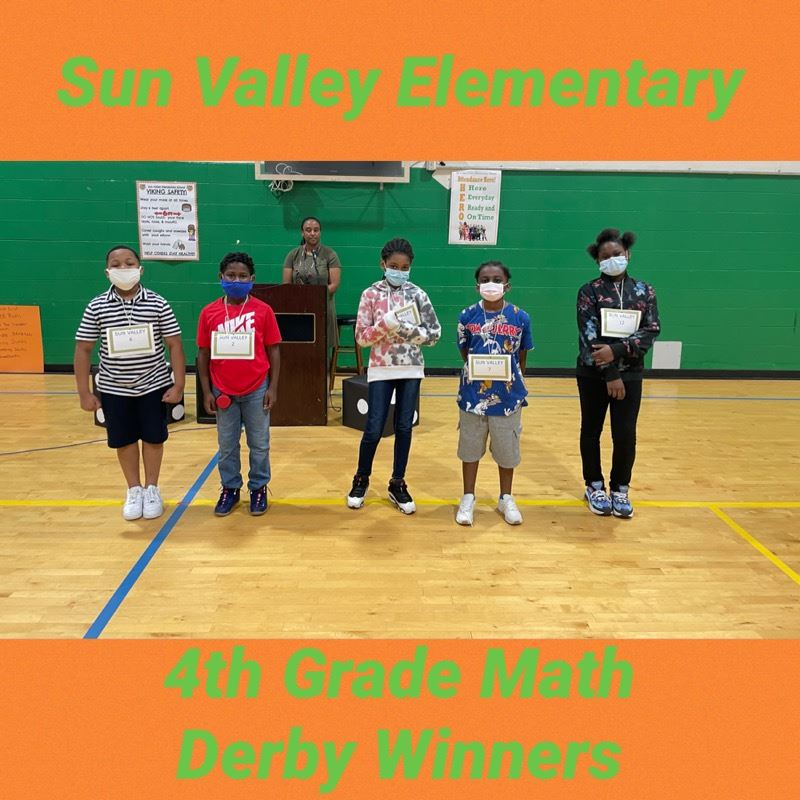4th Grade Math Derby