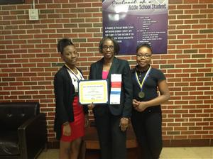 Putnam Middle School FBLA Winners of 2015 Alabama State Leadership Conference/Competition