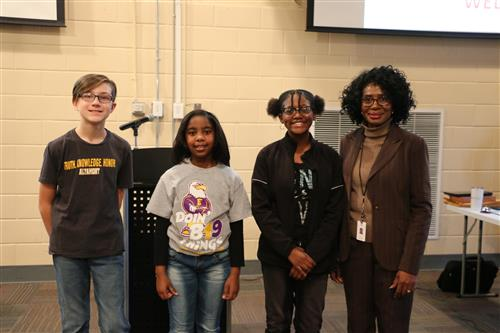 BCS District Spelling Bee Competition.  Congratulations Winners!
