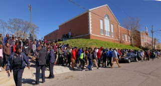 Birmingham City Schools National  Walk Out Day