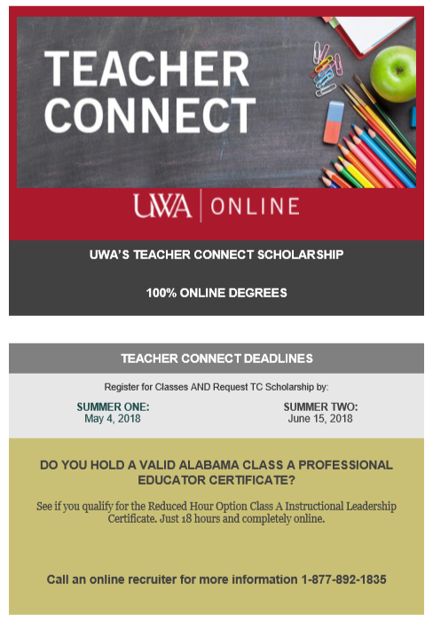 The University of West Alabama Partners with BCS in Online Degree ...