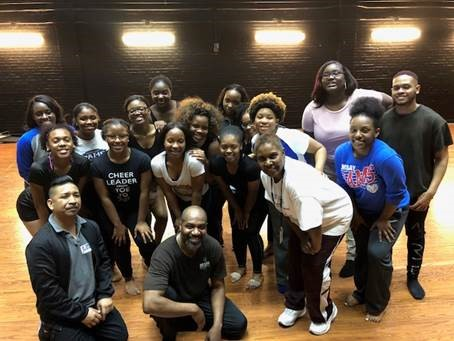National Choreographer Teaches Master Class at Ramsay High School