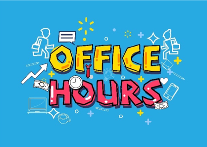 Office Hours, Email, and Phone Number