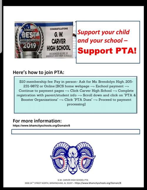 Support PTA
