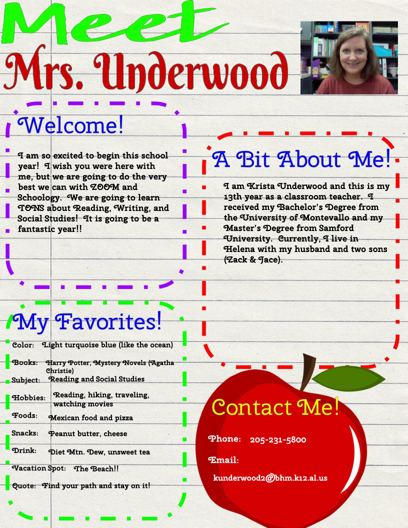Mrs Underwood