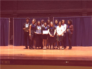 Twelve students participated in the Ramsay High School MLK Oratorical Contest