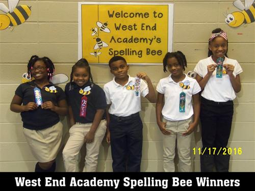 WEA Spelling Bee Winners
